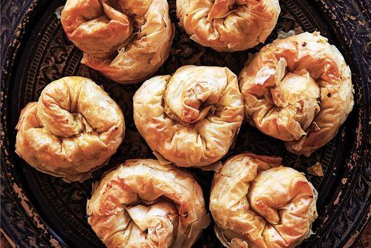 Spiced Butternut Squash Phylas