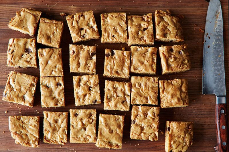 You, too, can make picture perfect blondies.
