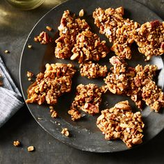 Maple, Buckwheat & Nut Brittle