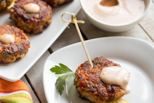 New Orleans Style Barramundi Fish Cakes with Creole Remoulade