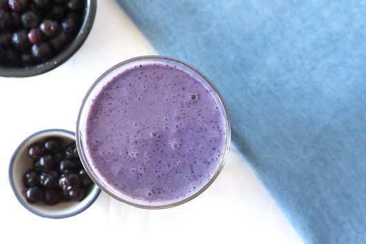 Wild Blueberry Chai Smoothie