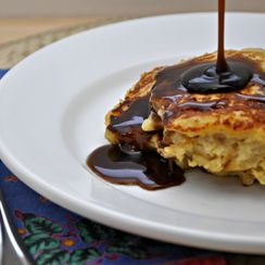 Bread Pudding Pancakes