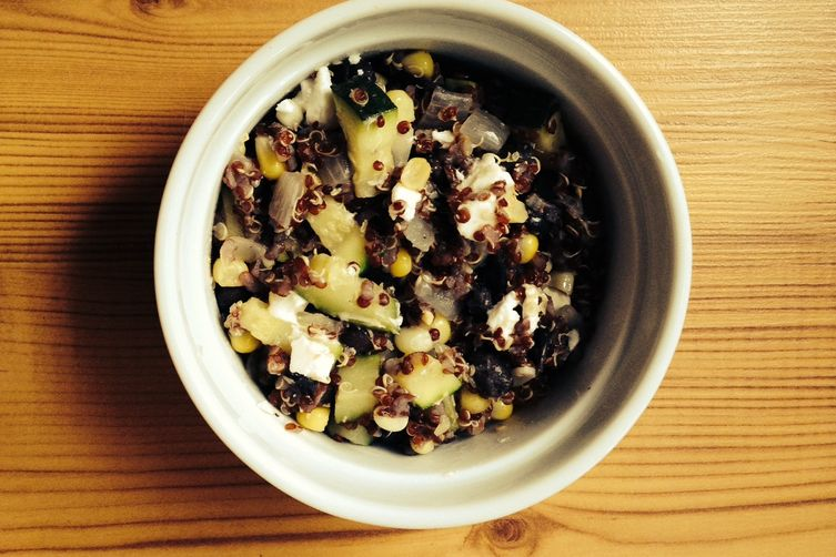 Red Quinoa Summer Salad