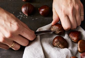 How to Roast, Cut, and Peel Chestnuts—Without Going Nuts