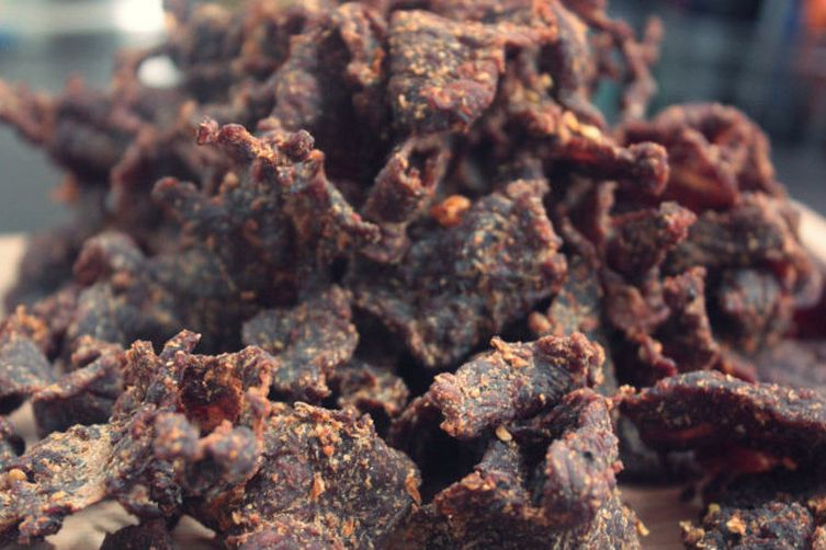 Bourbon Peppered Beef Jerkey