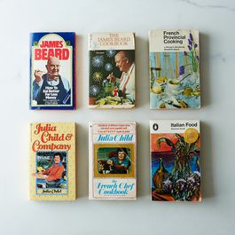 Hand-Embroidered Vintage Cookbooks