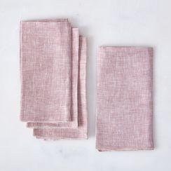 Linen Chambray Napkins (Set of 4)