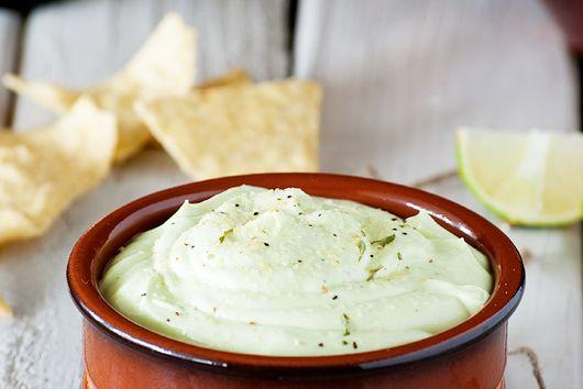 Guilt-free Creamy Greek Yogurt Avocado Dip