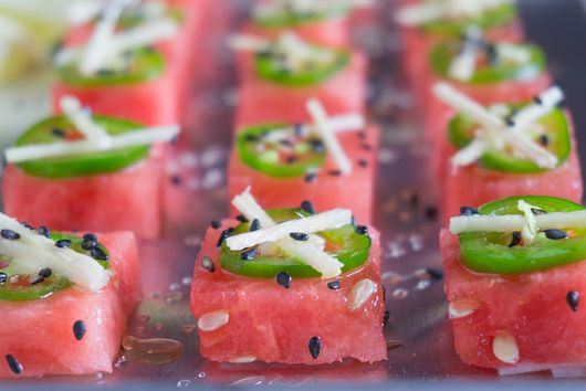 Watermelon Sashimi