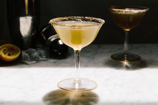 Queen Anne's Lace Cognac Cocktail