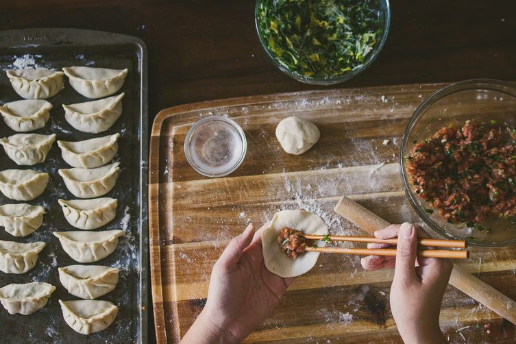Homemade Dumpling Wrappers