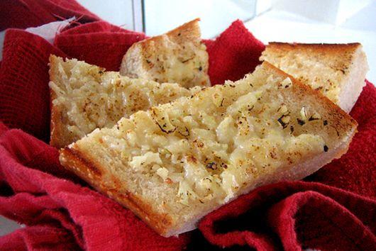 Super Garlic Parmesan Bread