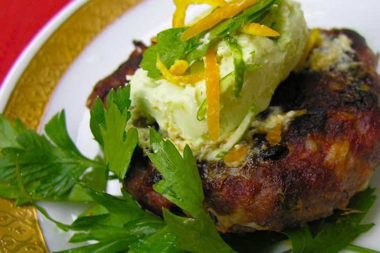 Burgers: ginger margarita style
