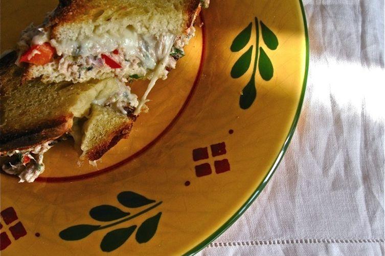 Provençal Tuna Melt