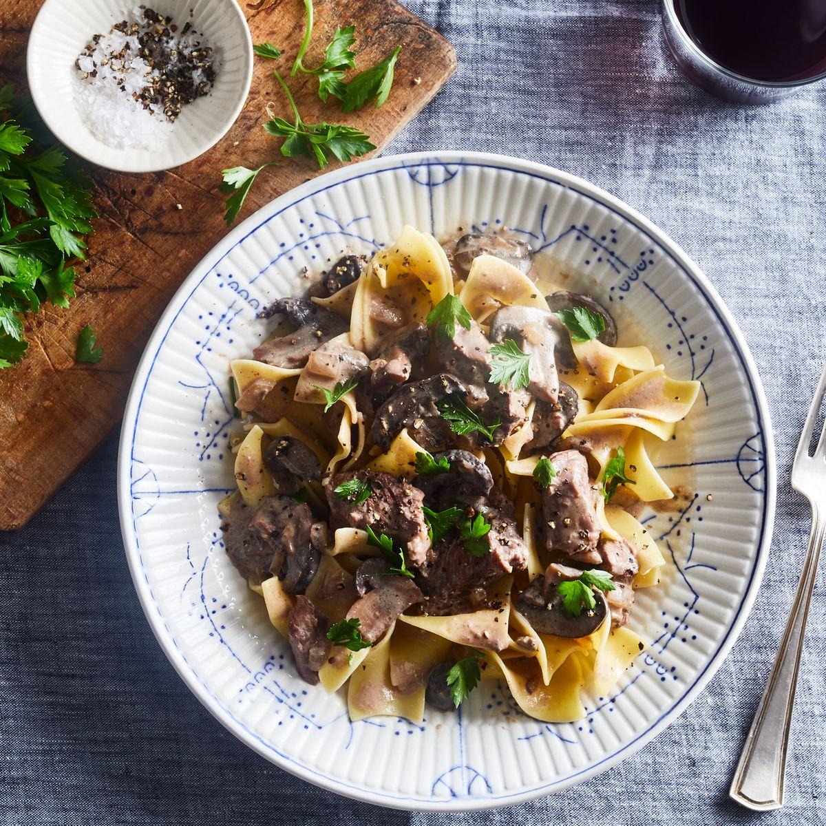 Slow-Cooker Beef Stroganoff Recipe for the Crock-Pot