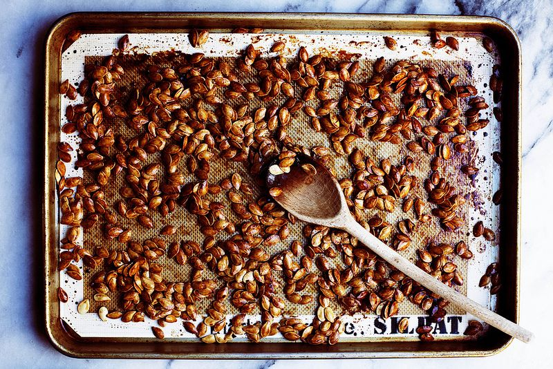 Roasted Pumpkin Seeds from Food52