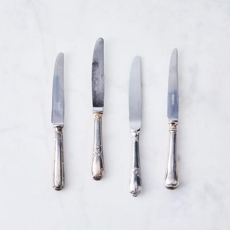 Vintage Petite Butter Knives (Set of 4)