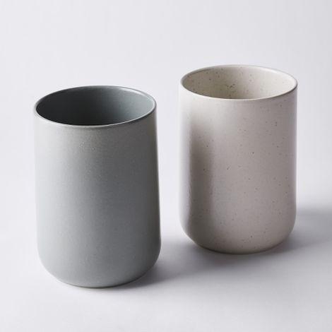 Minimal Ceramic Utensil Crock