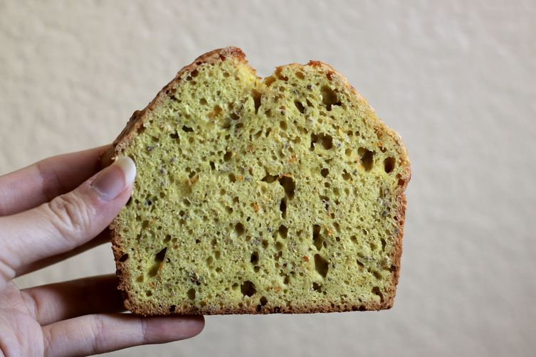 Orange Turmeric Chia Bread