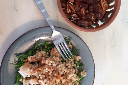 Couscous with Dates and Pecans