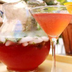 Spicy Raspberry Mint Sodas