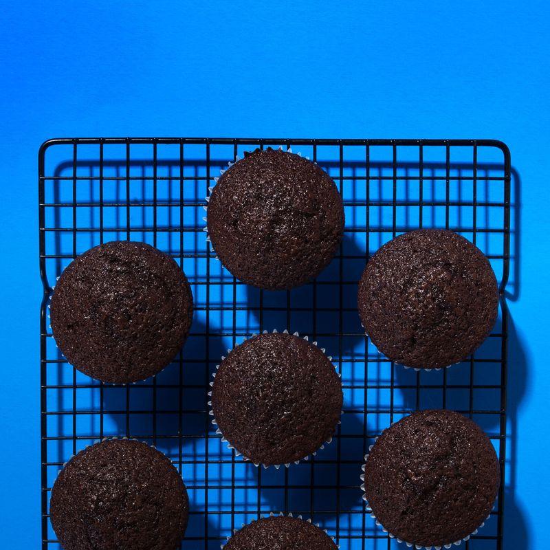 Chocomíl cupcakes.