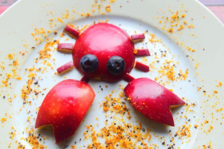 Crab Food Art