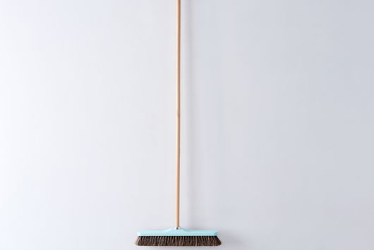 """[OLD] Vintage-Inspired French Push Broom, 16.5"""""""