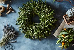 The Life of a Boxwood Wreath