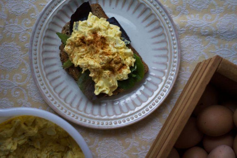 Southern Deviled Egg Salad