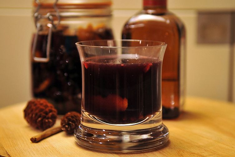 Spiced Gløgg with Port Wine and Cointreau Recipe on Food52