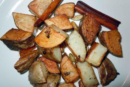 Cardamom Roasted Potatoes