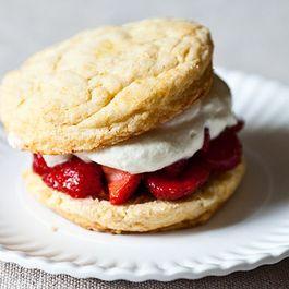 James Beard's Strawberry Shortcakes