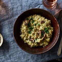 Ris-oat-o: Think Oatmeal, but Savory