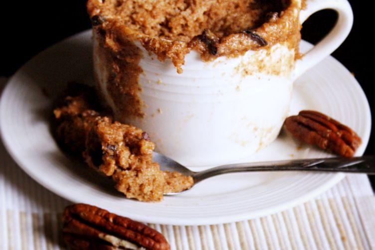 Chocolate Chip Cookie Dough Mug Muffin