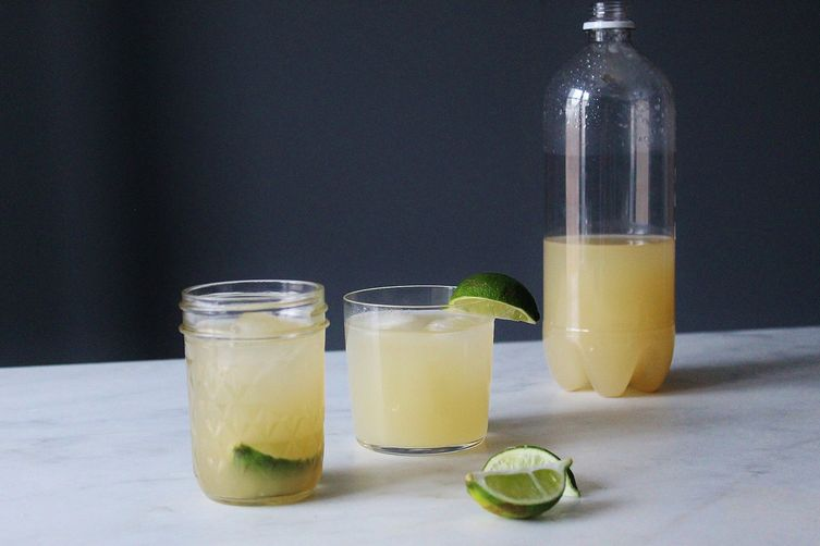 Homemade Alcoholic Ginger Beer