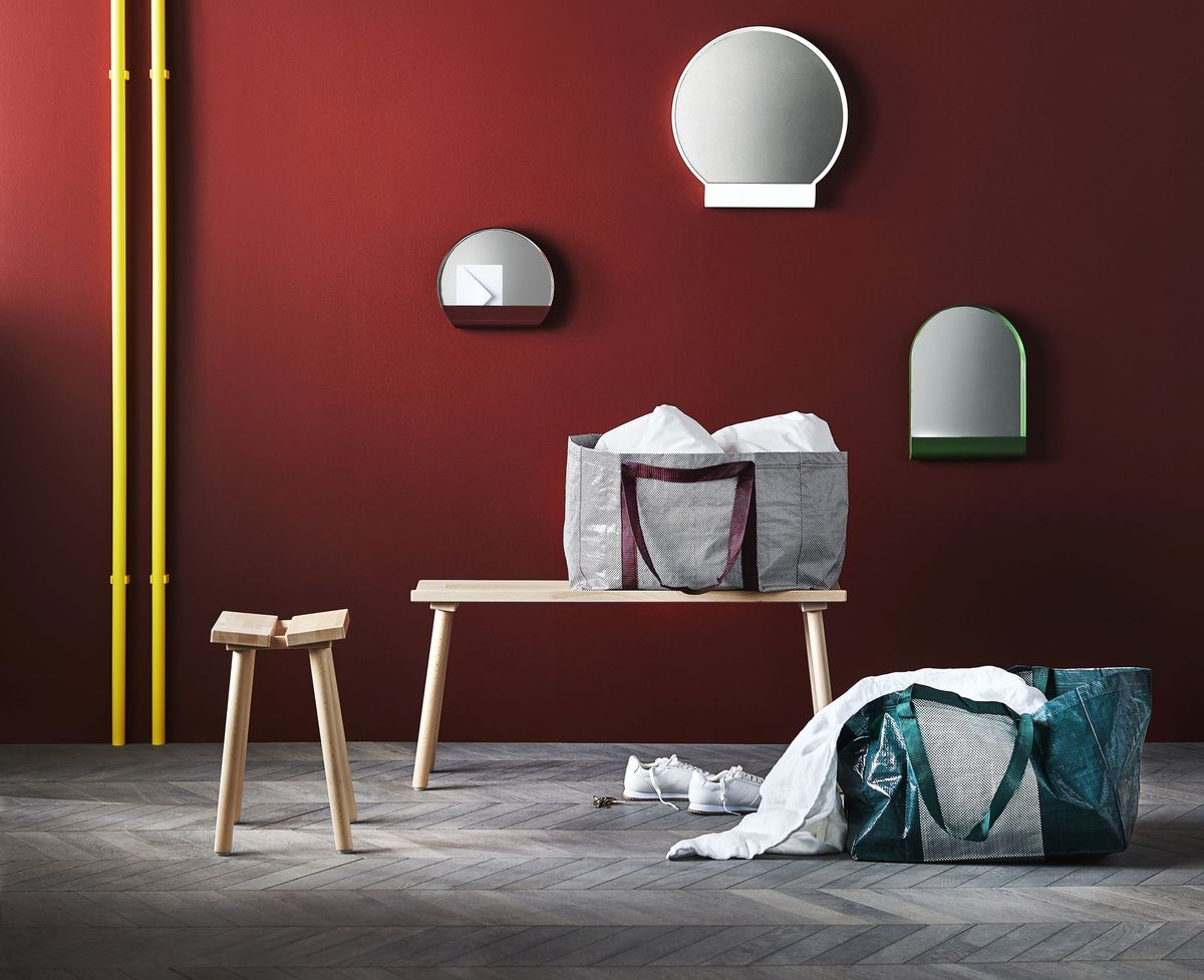 ikea x hay 39 s new collaboration is worth the wait. Black Bedroom Furniture Sets. Home Design Ideas