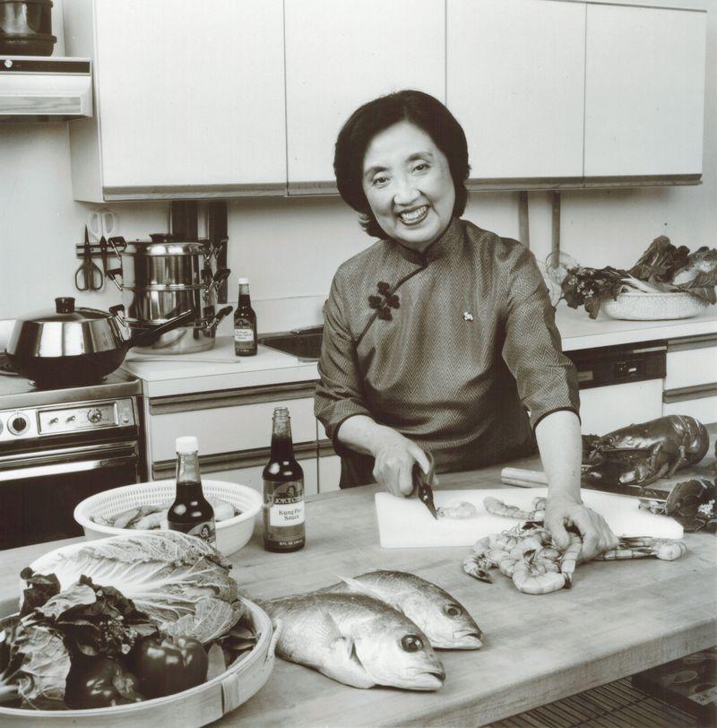 Joyce in 1984. Courtesy Stephen Chen.
