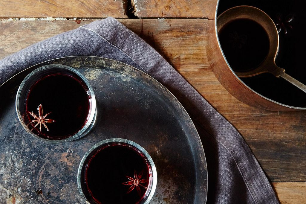 spiced mulled wine punch (glogg)