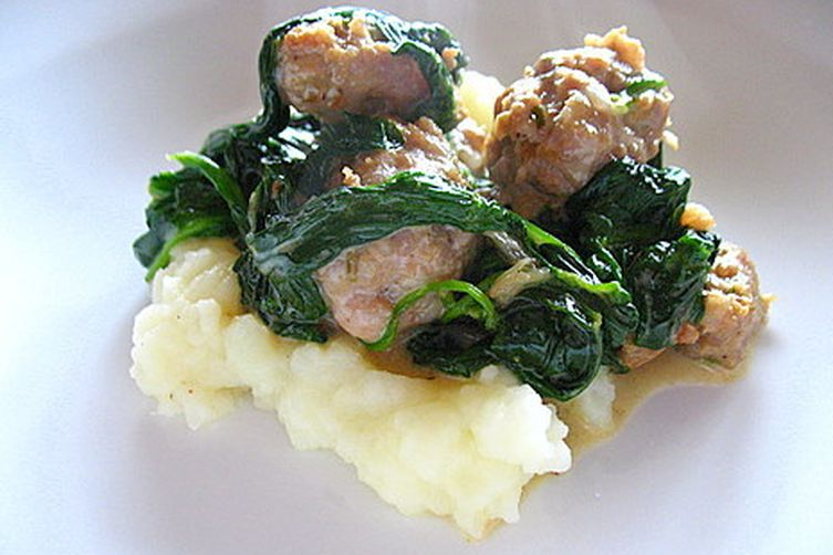 Popeye's Pride: Spinach and Sausage Surprise
