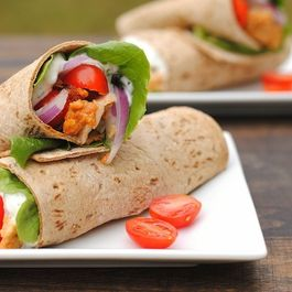 Tandoori Chicken Wraps
