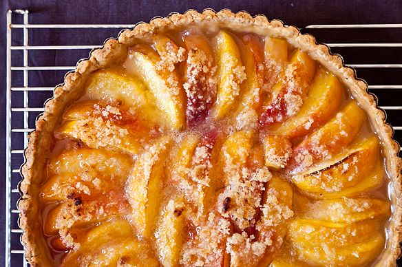 Peach Tart on Food52