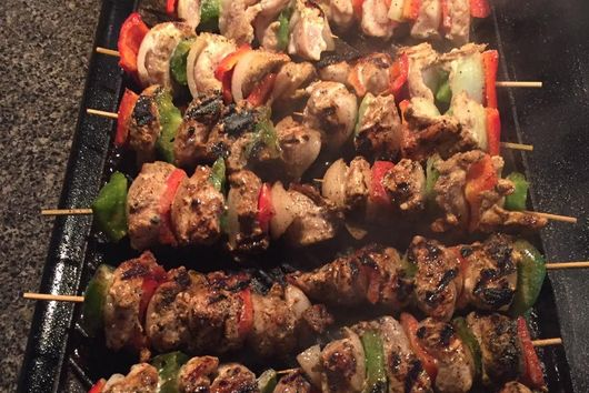 Teo's Citrus Garlic & Herb Chicken Kabobs