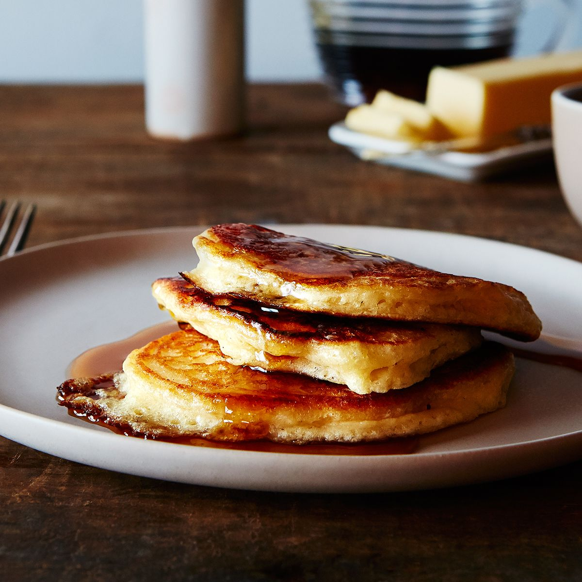 A trick to make any pancakes fluffier ccuart Images