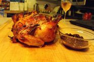 Game Hens with Roasted Grape Mostarda