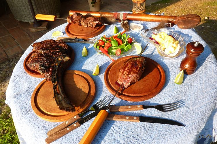 Tomahawk and Picanha