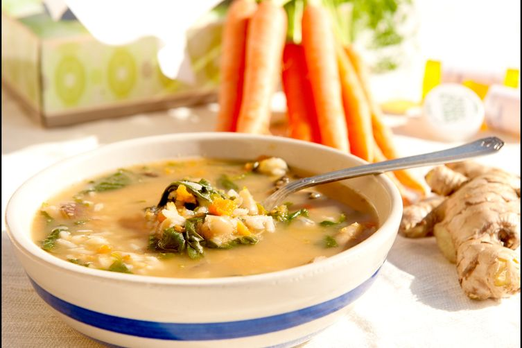 Ginger-Carrot Cold Cure Soup