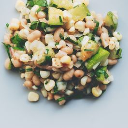 White Bean and Summer Vegetable Salad