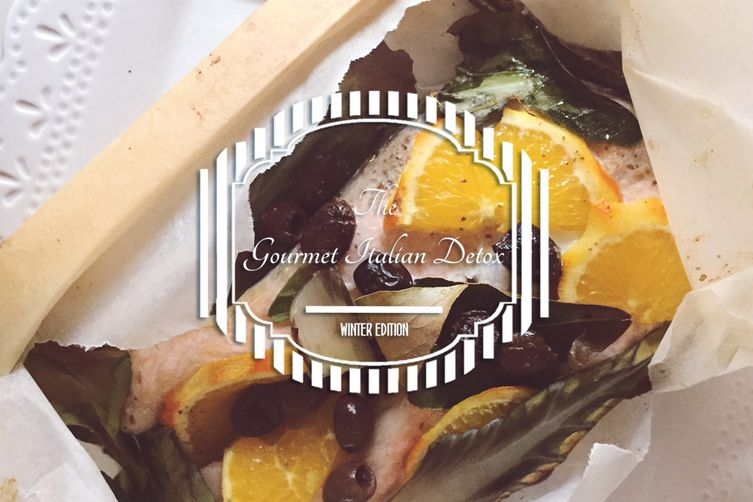 Salmon & Orange Detox Fish Packet