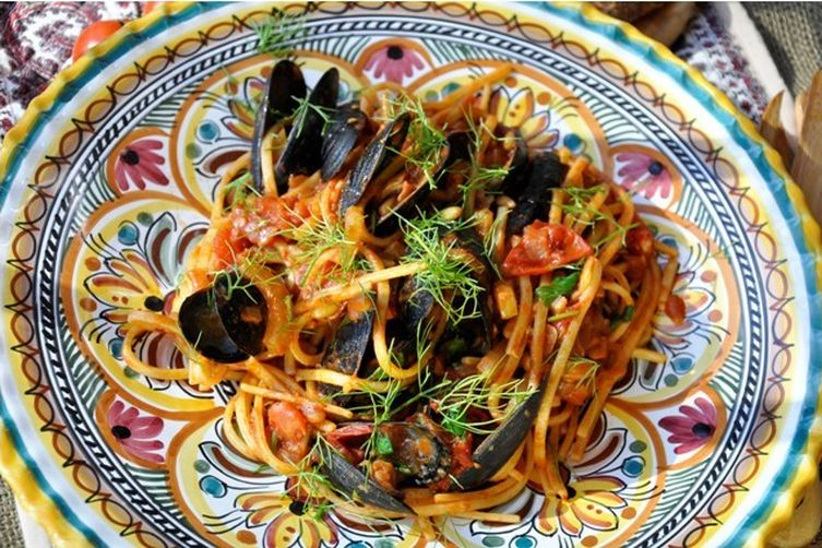 Memories of Linguine da Amalfitana